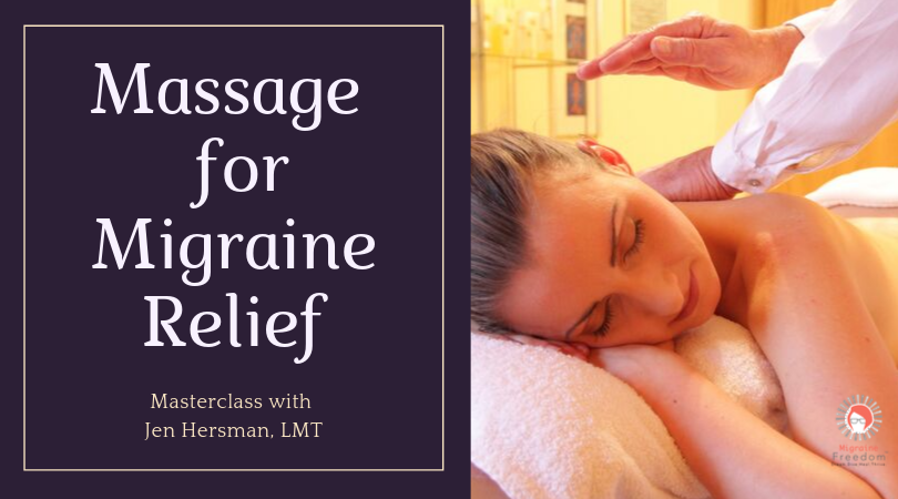 Self-Massage for Migraines
